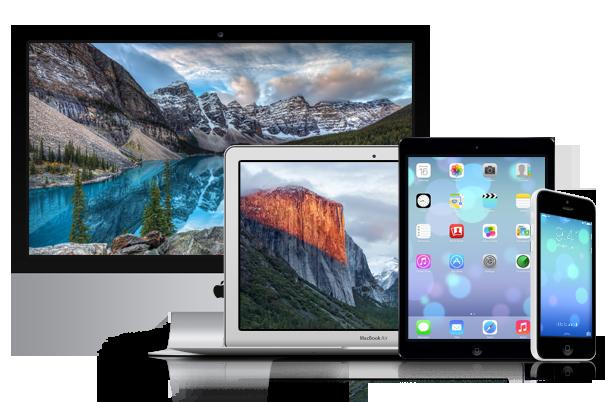 Nous réparons toute la gamme d'Apple en étant agréé par Apple