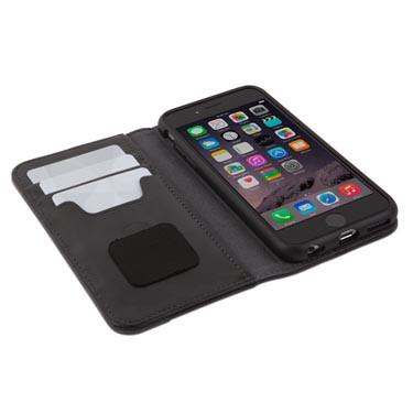 Overture Étui portefeuille pour iPhone 6-6S noir