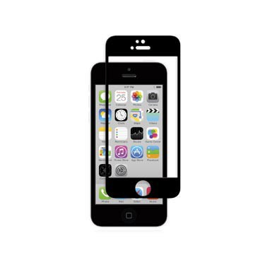 iVisor Glass Protection d'écran pour iPhone 5 5S 5C SE noir
