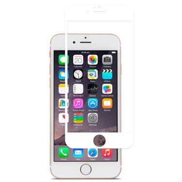 iVisor Glass Protection d'écran pour iPhone 6 6S transparent blanc