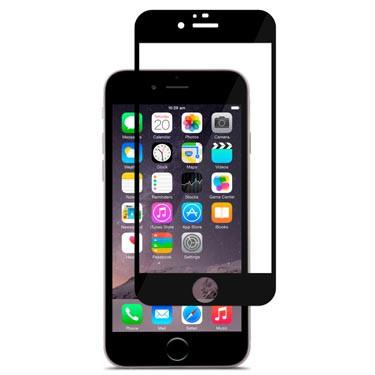iVisor Glass Protection d'écran pour iPhone 6 6S transparent noir